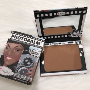 The Balm photobomb powder foundation after dark